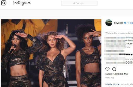 Beyoncé holt Auftritt nach – das Netz feiert