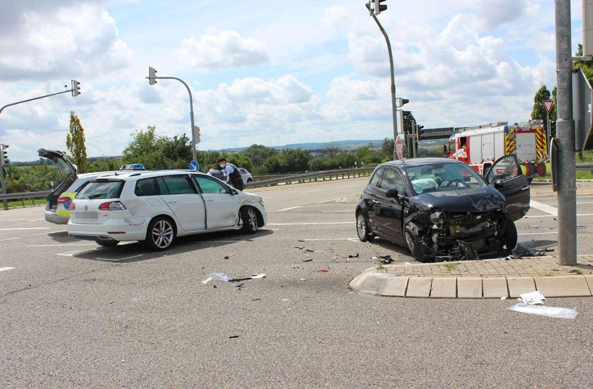 Der Unfall ereignete sich nahe Schwieberdingen. Foto: SDMG/SDMG / Hemmann