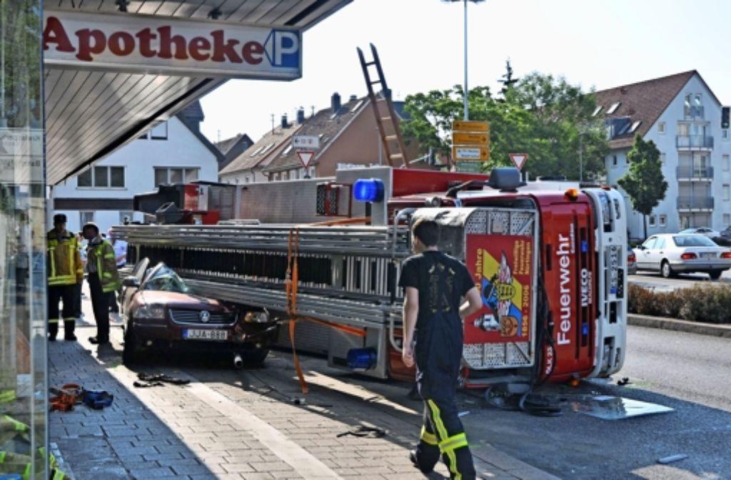 Bei dem Unfall am 14. Juni ist ein 33-jähriger Autofahrer schwer verletzt worden Foto: Andreas Rosar