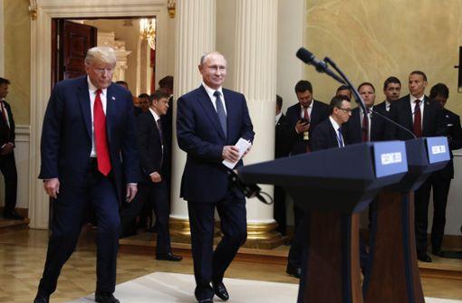 Donald Trump steht unter Druck