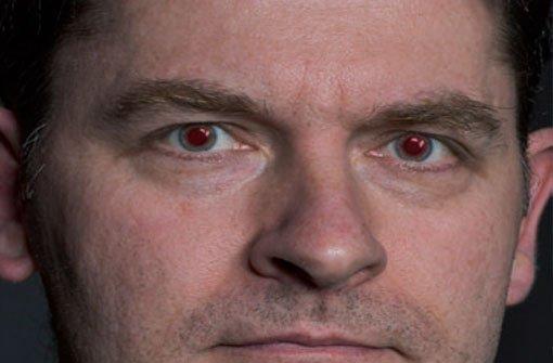 Teuflisch rote Augen? Kein Problem