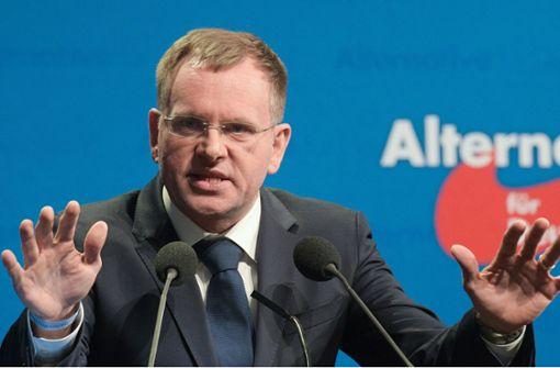 AfD-Landeschef Spaniel: Kampfansage an Radikale