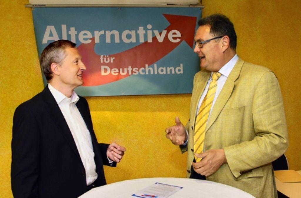 Stefan Thien und Jörg Wittmaak heißen die neuen Sprecher Foto: factum/Bach