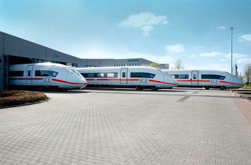 Bahn braucht rasch schnellere Züge