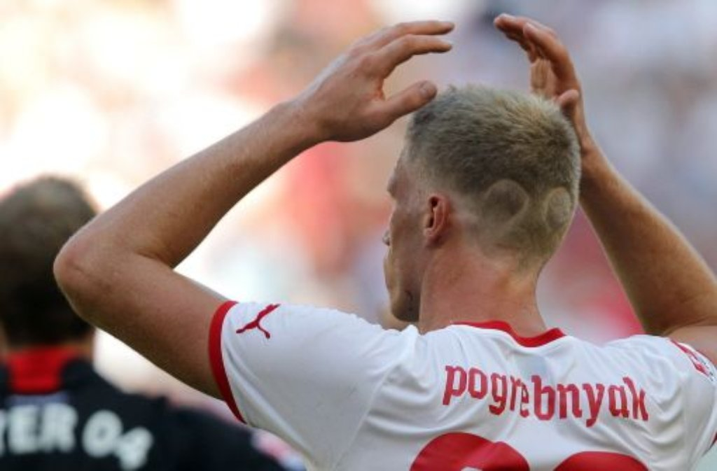 Der Last-Minute-Verkauf: Pawel Pogrebnjak verlässt den VfB Stuttgart doch noch in diesem Winter. Der Russe, der einst als Gomez-Nachfolger aus St. Petersburg an den Neckar geholt wurde, wechselt für rund 500.000 Euro nach England zum FC Fulham. Der Transfer wurde am 31. Januar, also am letzten Tag der Transferperiode II, abgeschlossen. Das Transferkarussell der Bundesliga drehte sich auf Hochtouren - klicken Sie sich durch unsere Bildergalerie: Foto: Pressefoto Baumann