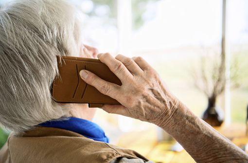 Das Plaudertelefon hilft   gegen die Einsamkeit