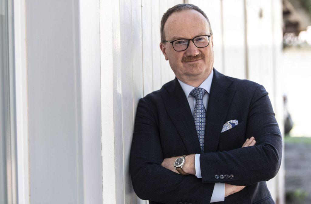 Lars Feld, Vorsitzender des Sachverständigenrates zur Begutachtung der gesamtwirtschaftlichen Entwicklung, hält eine tiefe Rezession in Deutschland für unvermeidbar. Foto: dpa/Patrick Seeger