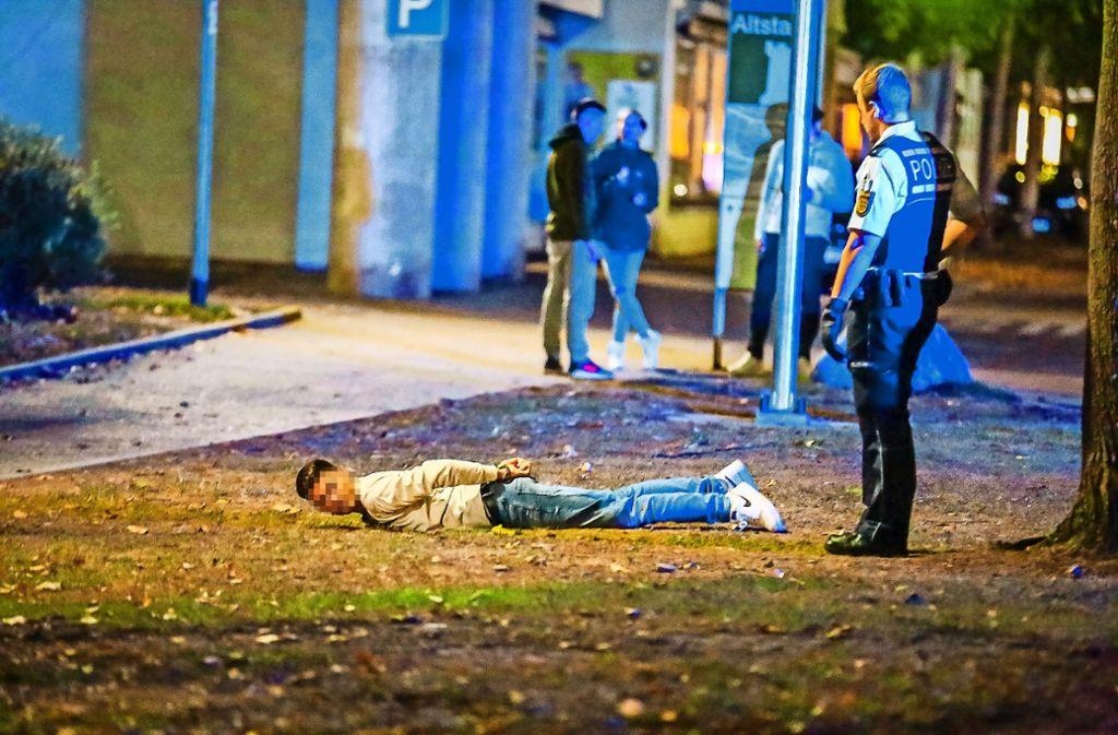 Der mutmaßliche Täter wurde nach kurzer Fahndung noch am Freitag festgenommen. Foto: KS-Images.de