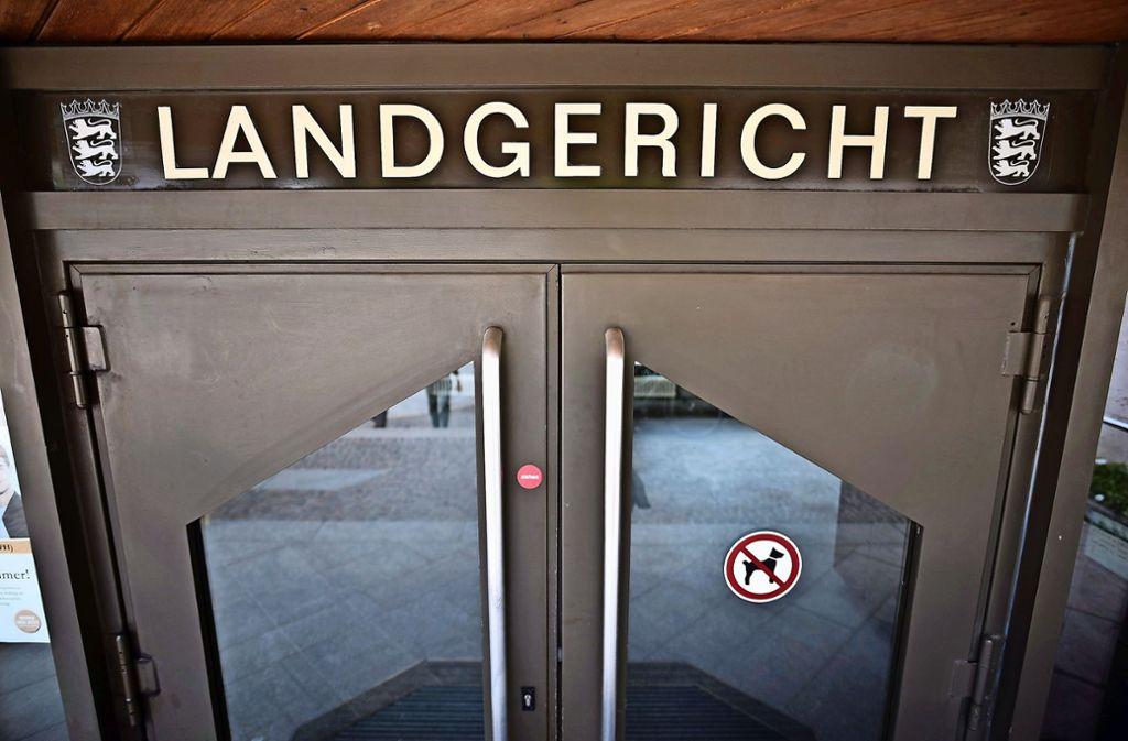 Der Stalker akzeptiert seine Strafe, der Prozess vor dem Landgericht Stuttgart ist schneller beendet als erwartet. Foto: Weingand / STZN