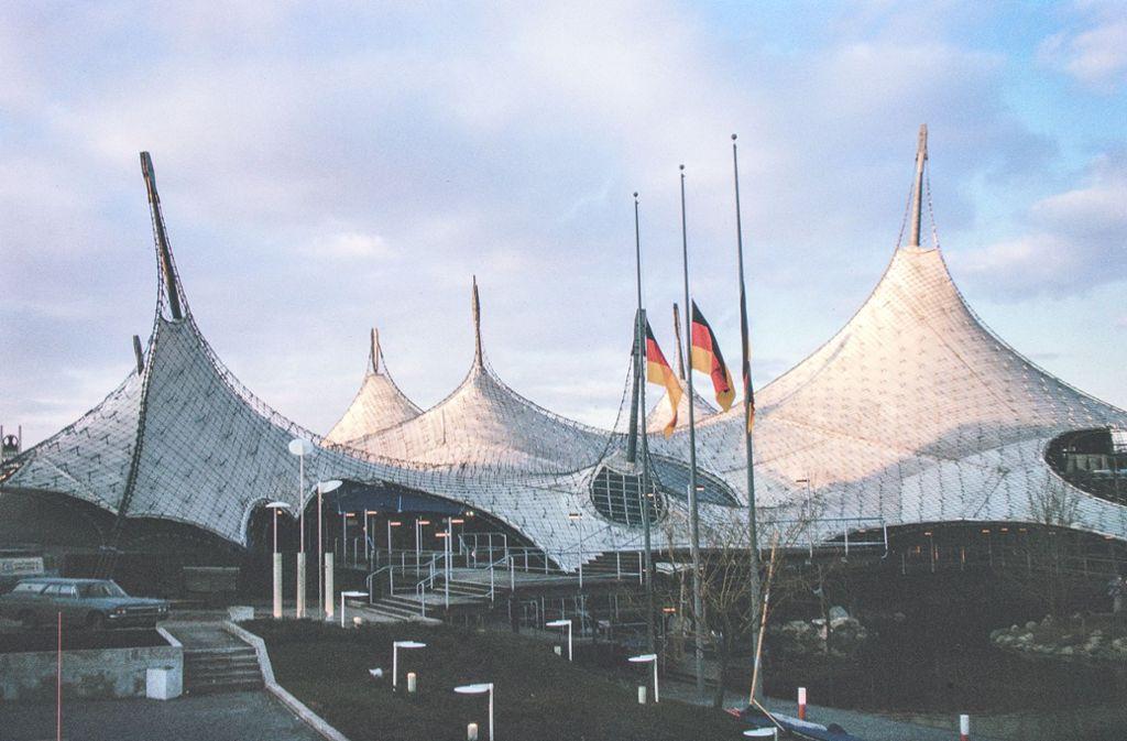 Publikumsliebling in Montreal 1967: der Deutsche Pavillon von Rolf Gutbrod und Frei Otto Foto: saai, Werkarchiv Frei Otto/saai, Werkarchiv Frei Otto