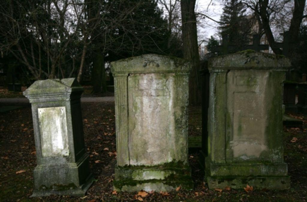 Nicht alle Denkmale in Stuttgart werden so behandelt, wie sie es verdienen – wie der Hoppenlau-Friedhof. Foto: Archiv