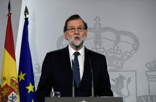 Es hat in Katalonien kein Referendum gegeben