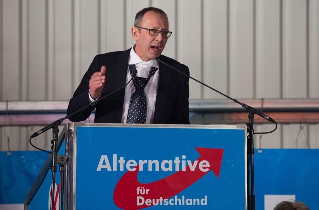 Jörg Urban, Vorsitzender der AfD in Sachsen Foto: dpa