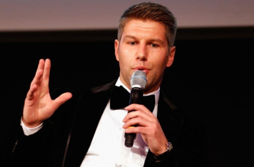 Thomas Hitzlsperger bei einer Charity-Gala der Magnus-Hirschfeld-Stiftung in Berlin Foto: Getty Images/Bongarts