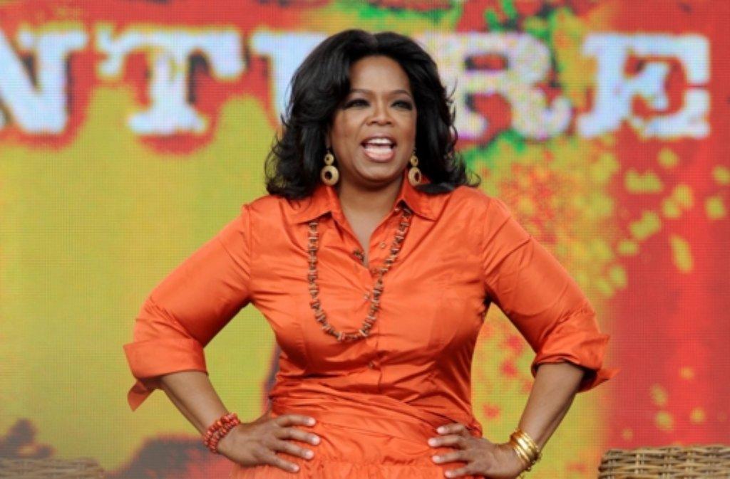 Oprah Winfrey - die heimliche Herrscherin der USA wird 60. Foto: dpa