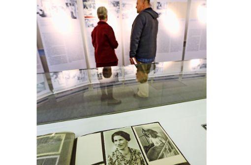 Gerda gibt der Ausstellung ein Gesicht