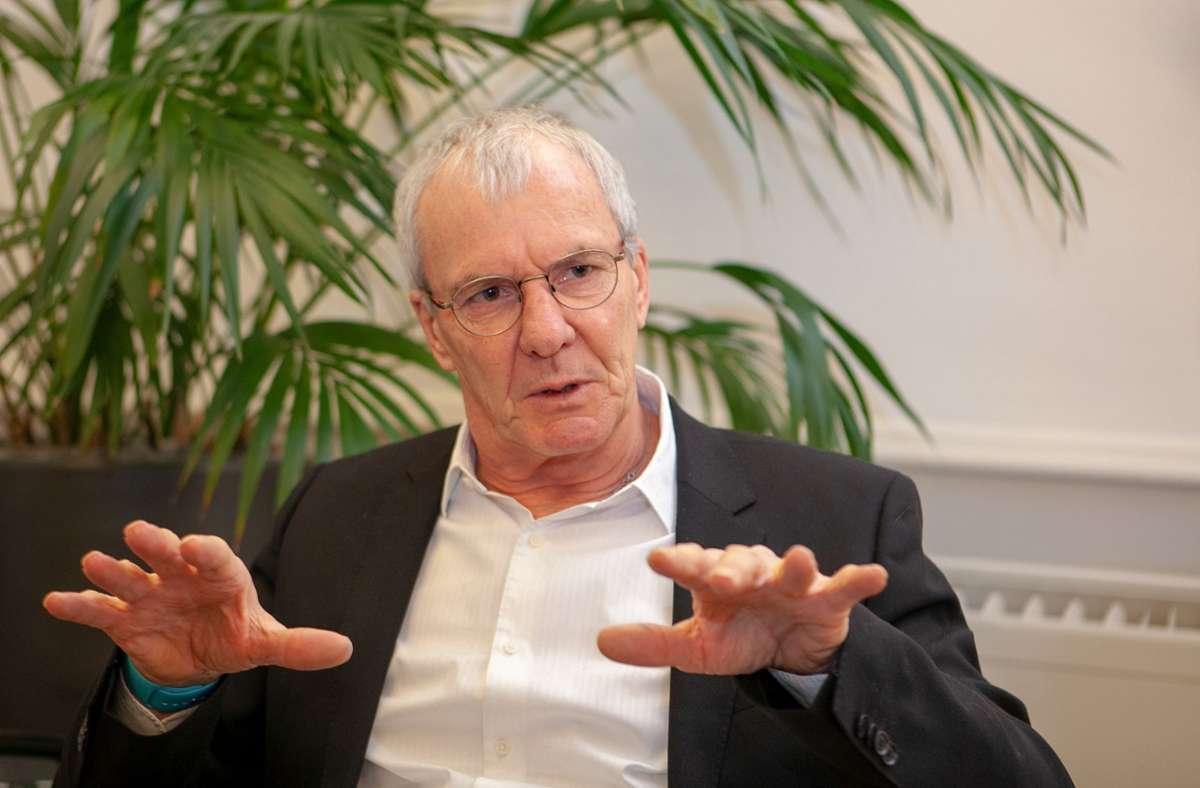 OB Jürgen Zieger will das vertrauensvolle Miteinander zwischen Verwaltung und Gemeinderat nicht länger belasten. Foto: Roberto Bulgrin