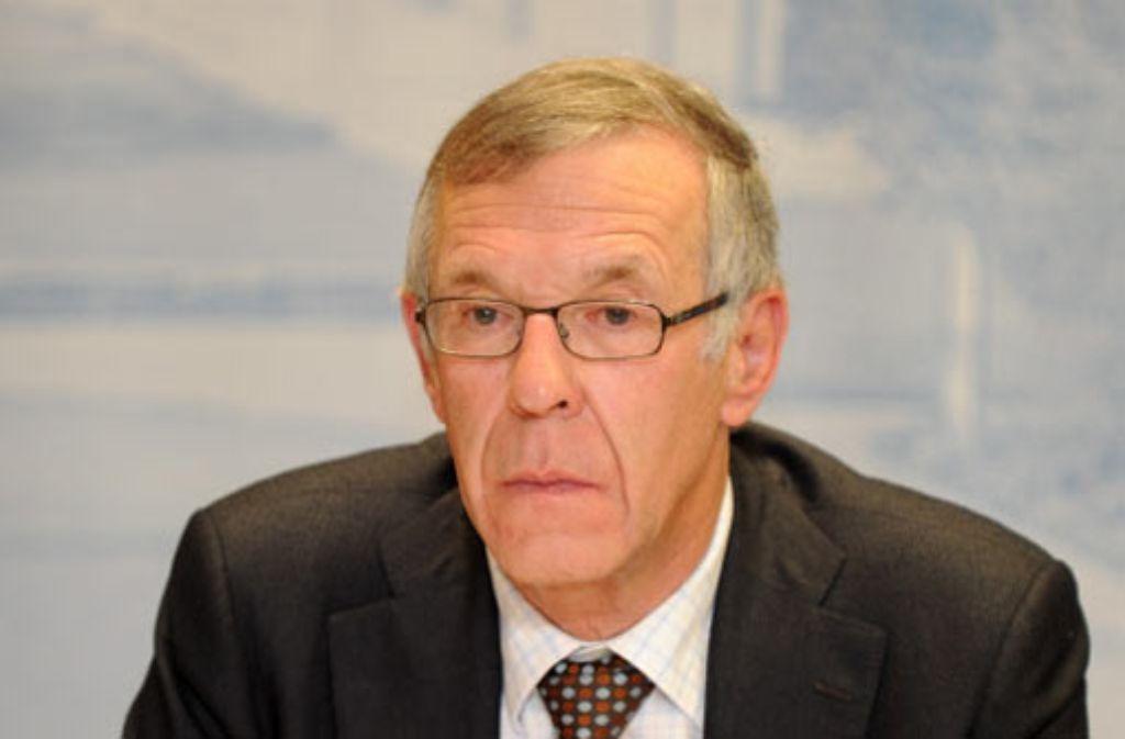 Der Verfassungsrechtler Klaus-Peter Dolde soll bestätigen, dass die finanzielle Beteiligung der Stadt an Projekt Stuttgart 21 mit dem Grundgesetz vereinbar ist. Foto: dpa