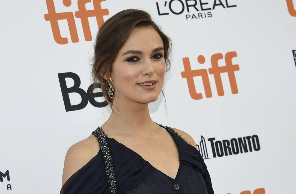 Strahlend schön wie immer: Keiry Knightley beim Filmfest in Toronto. Foto: Invision