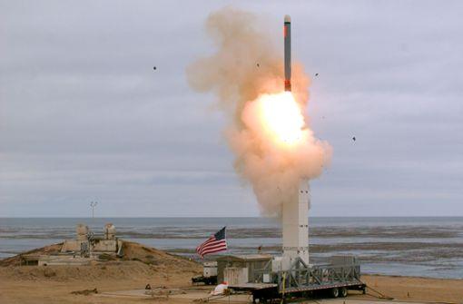 USA heizt Sorge um Wettrüsten mit Raketentest an
