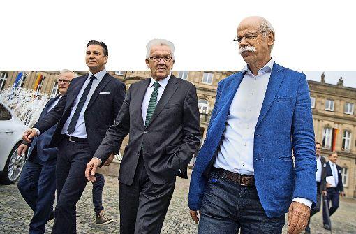 Politik und Autobauer geben sich in Stuttgart einig