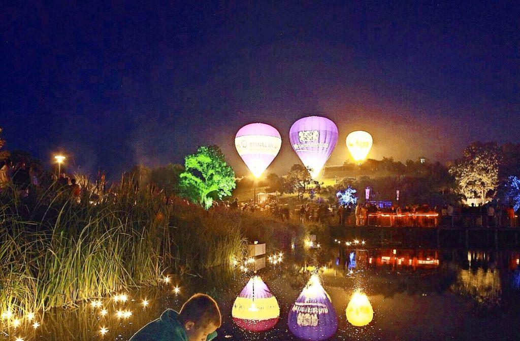 Das Sommernachtsfest im Landschaftspark ist auch für Kinder ein Highlight. Foto: privat