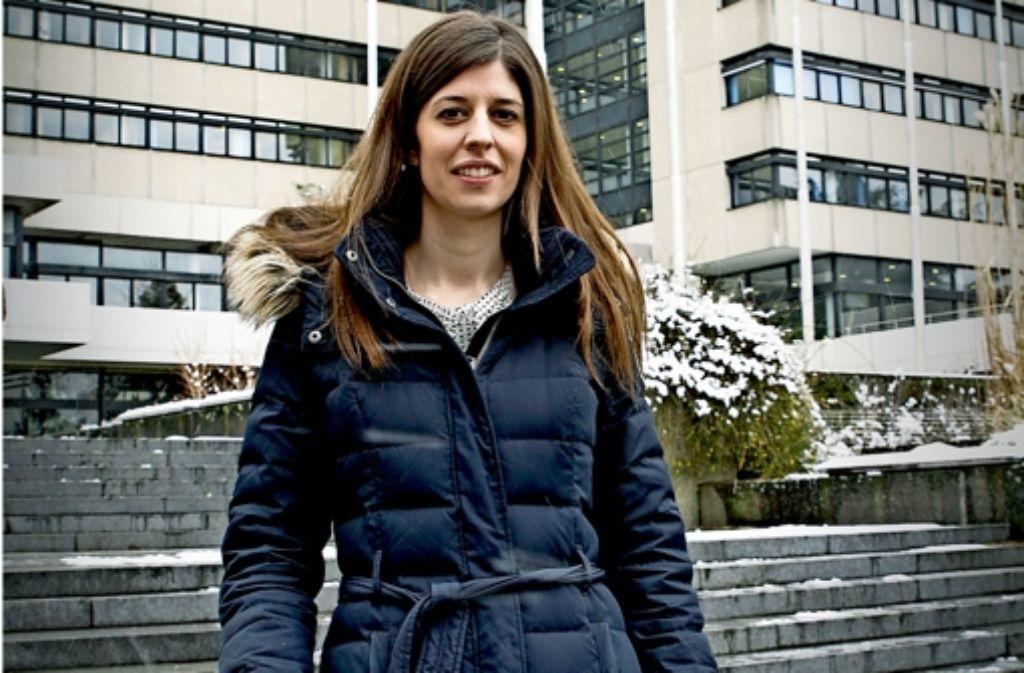 Viele Stunden verbringt Johanna Forster im Sindelfinger Rathaus. Foto: factum/Bach