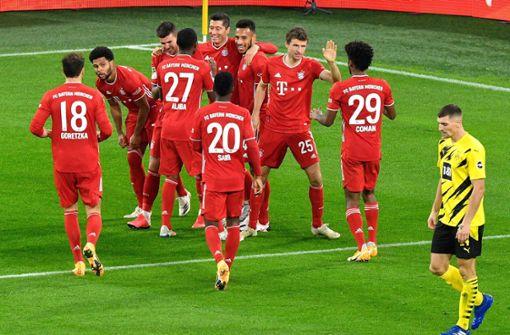FC Bayern zementiert Machtverhältnisse - 3:2 beim Gipfel in Dortmund