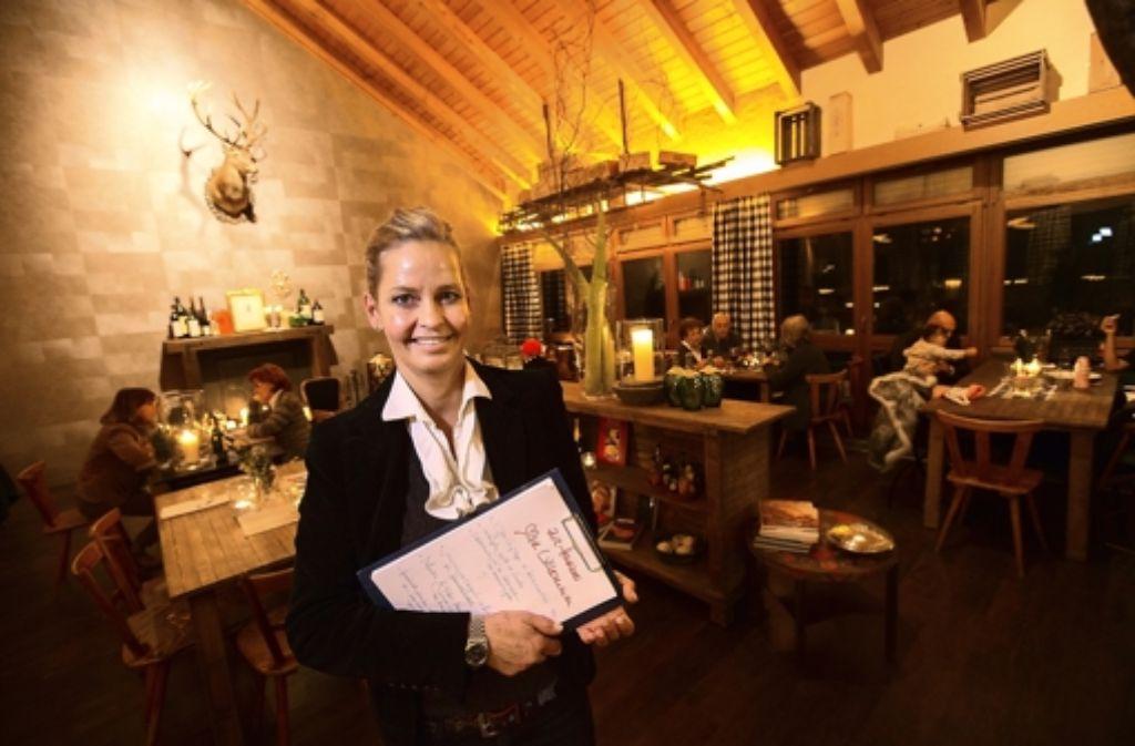 Anne Hannich ist schon lange in der Stuttgarter Gastronomie tätig. Foto: Michael Steinert