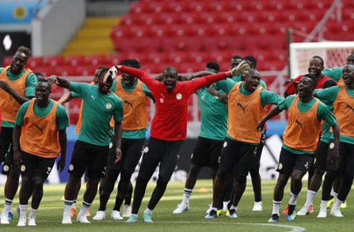 Senegal tanzt sich warm