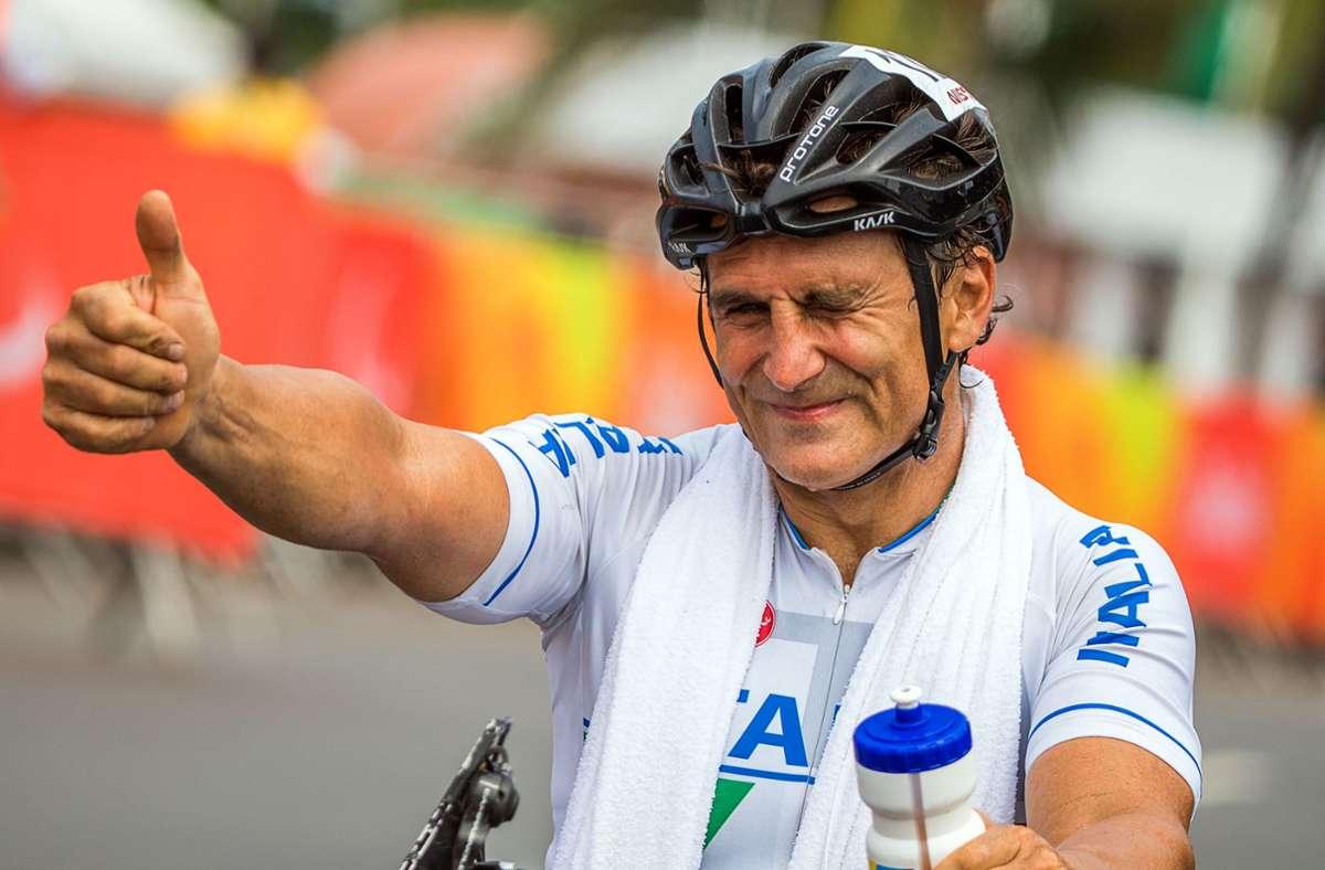 Alessandro Zanardi geht es langsam besser (Archivbild). Foto: dpa/Jens Büttner