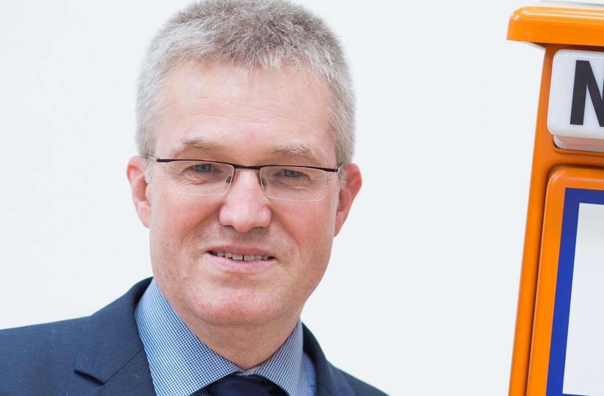 Pierre-Enric Steiger will VfB-Präsident werden. Foto: dpa/Christoph Schmidt