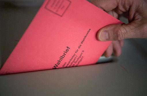Es gibt schon jetzt mehr Briefwähler als 2013 in Stuttgart