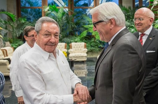 Steinmeier ermutigt Castro zu weiteren Reformen