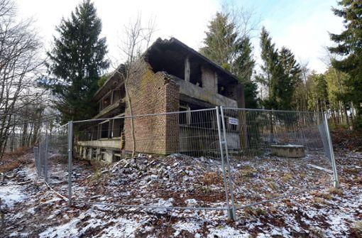 Neue Bilder aus der Ruine des Adenauer-Hauses