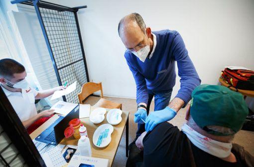 Erleichterung bei den Wohnungslosen über die Impfung