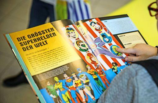 Kinder werden vom Lesefieber gepackt