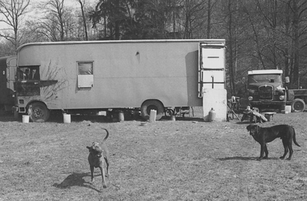 Schon im Jahr 1999 gab es Besuch von den Landfahrern, wie unser Foto zeigt. Nun erneut beim Leobad. Foto: LKZ-Archiv