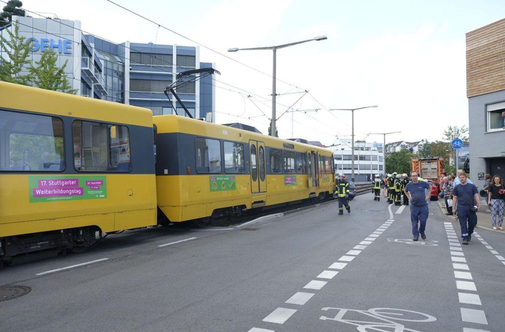 Der Stadtbahnverkehr ist derzeit eingeschränkt. Foto: 7aktuell.de/Frank Herlinger