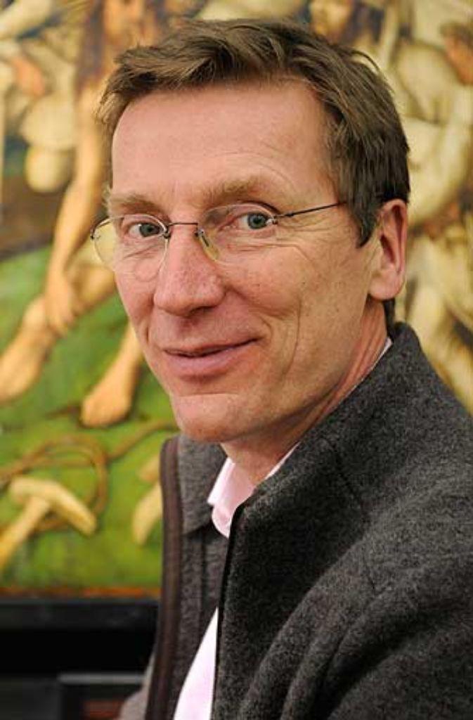 Henning Autzen ist der Leiter der Gemälderestaurierung. Foto: Staatsgalerie Stuttgart