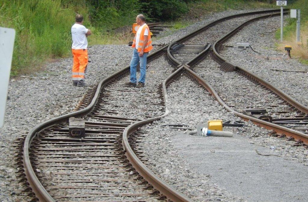Strohg Ubahn Lahmgelegt Zug Bei Schwieberdingen Entgleist