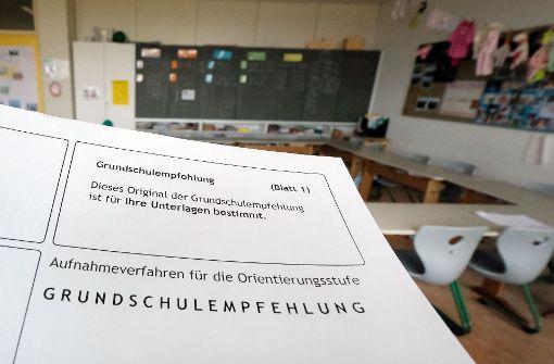 CDU ist für verbindliche Schulempfehlung