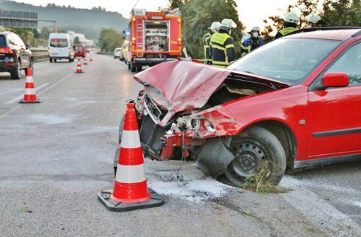 Unfall im Berufsverkehr sorgt für Stau