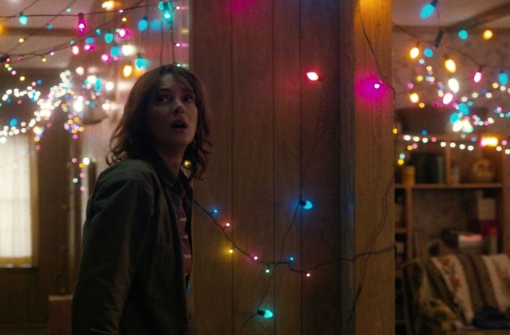 "Wird sie noch zur Scream Queen? Winona Ryder in der neuen Netflix-Serie ""Stranger Things"". Foto: Getty"