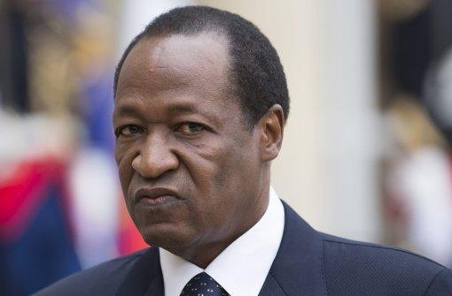 Präsident von Burkina Faso tritt zurück