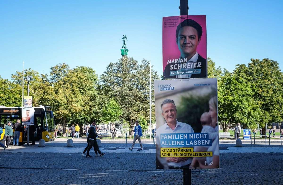 Der geringe Bekanntheitsgrad aller Kandidaten  verursacht denen offenbar kaum Sorgen. Foto: Lichtgut/Max Kovalenko