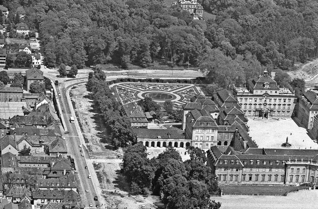 Ein Schnitt durch Ludwigsburg. Foto: Uwe Moser