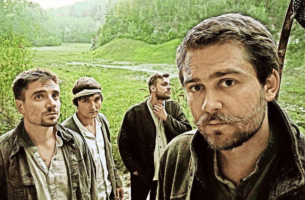 Sie nennen sich selbst   Jungs aus dem schwäbischen Hinterland: Tin Woodmen. Foto: Pressefoto