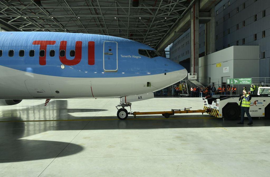 Es gab bei Tui Anfragen besorgter Passagiere, die Flüge mit diesem Flugzeugtyp vermeiden wollten, sagte ein Tui-Sprecher. Foto: BELGA