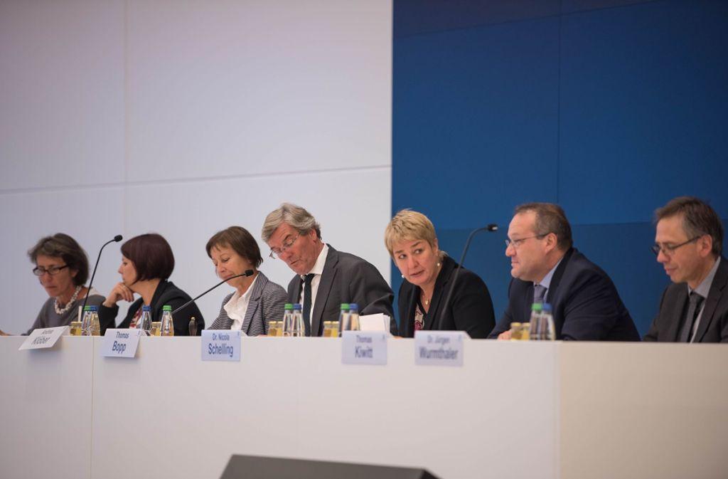 Die Führungsspitze des Verbands Region Stuttgart Foto: Lichtgut/Max Kovalenko